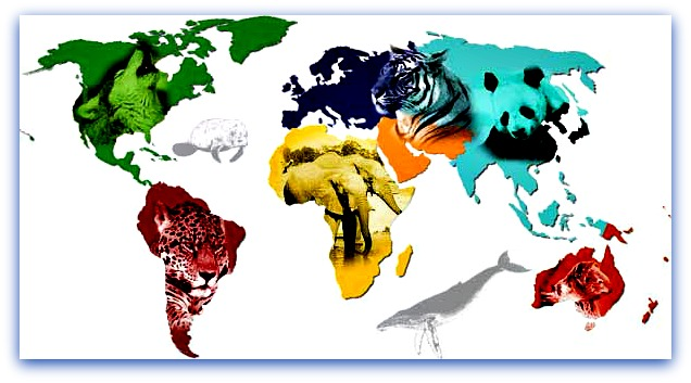 world-animal-map