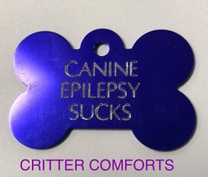 canine epilepsy sucks dog tag