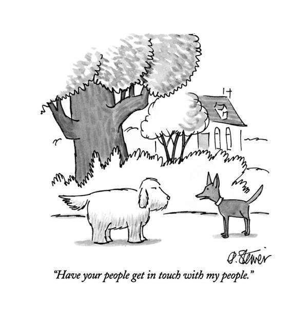new yorker dog cartoon