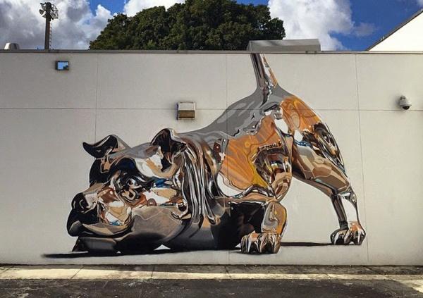 graffiti dog art