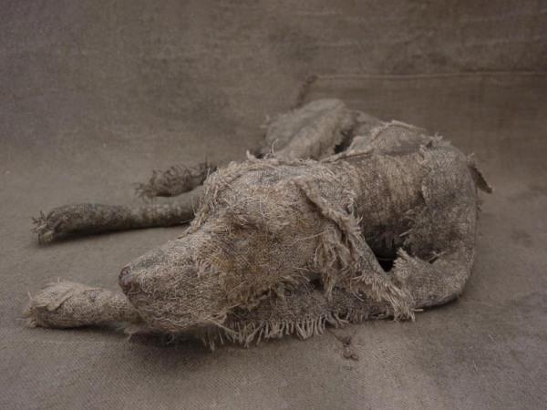 textile dog