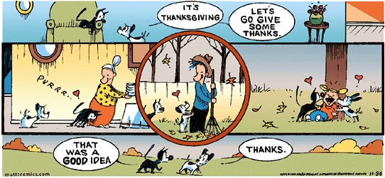 Mutts thanksgiving cartoon