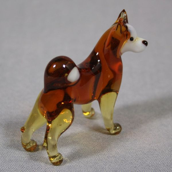 blown glass husky