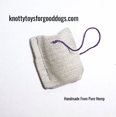 Knotty Nip cat toy