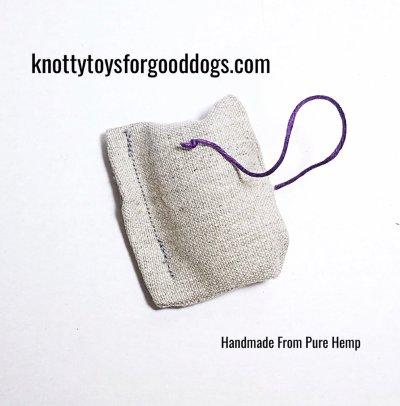 Knotty Nip cat toy